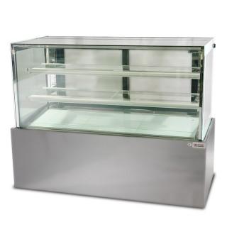 Square Floor Cake Display Cabinet